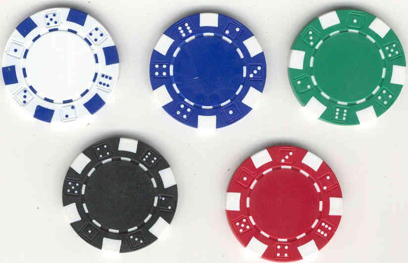 Poker chips - 20853