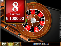Roulette system svart - 21493