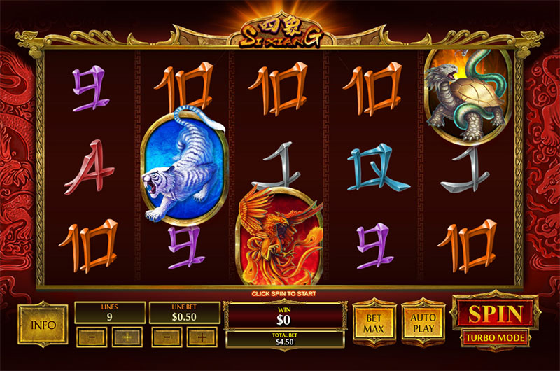 Si Xiang Slot - 52388