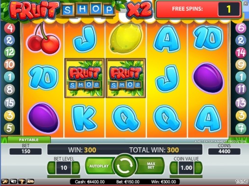 Free spins Fruits - 85560
