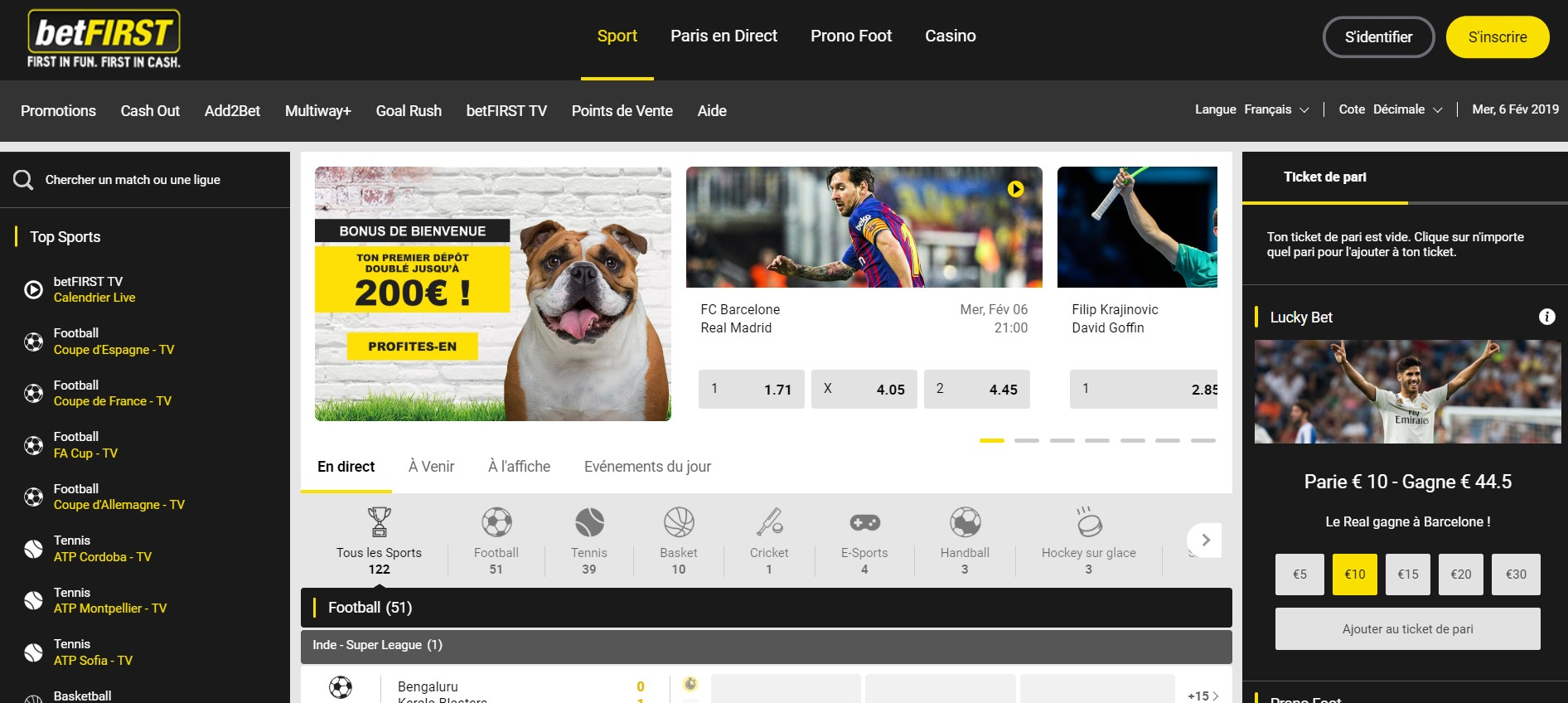 Mobile bet - 99520