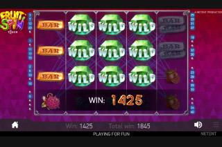 Fruit spins spelautomater - 58396