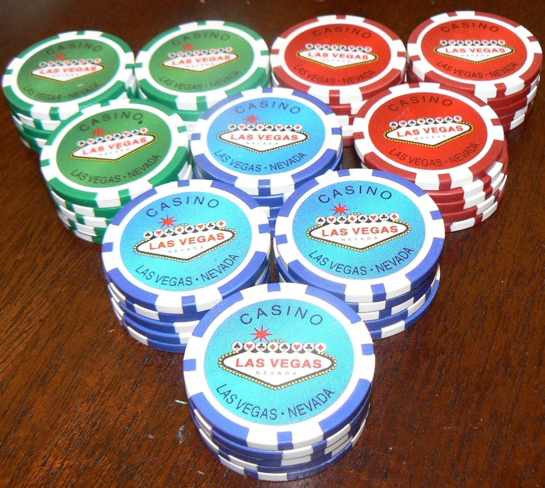 Poker chips - 67575