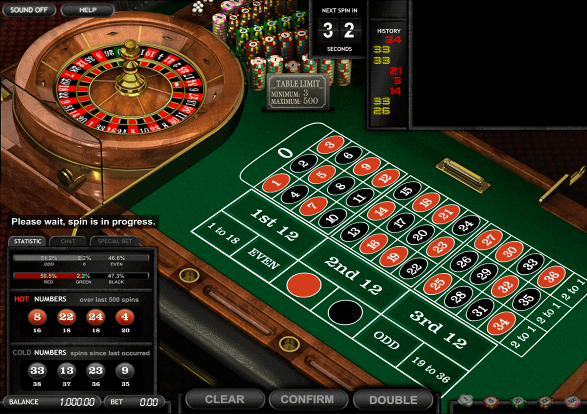 Spelsystemet roulette MaChance - 65697
