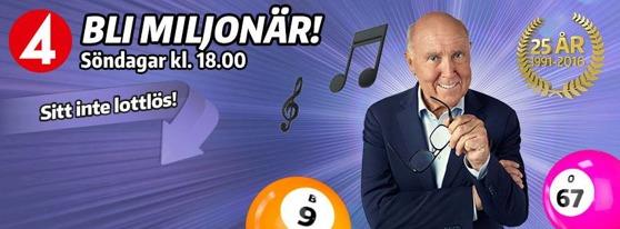 Miljon lotteri - 44989