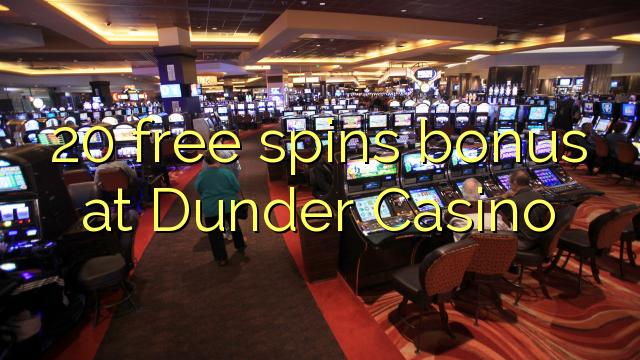 Dunder casino välj - 25259