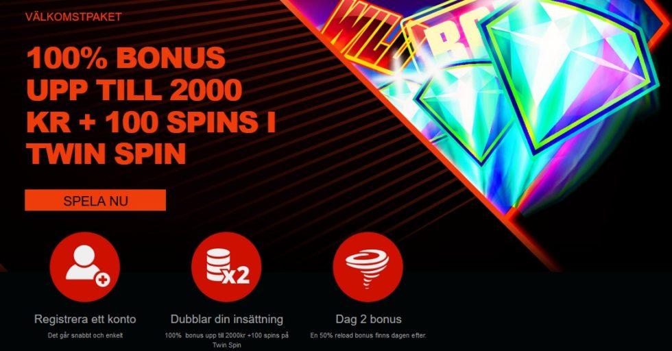 Bonuskod för casino - 69630