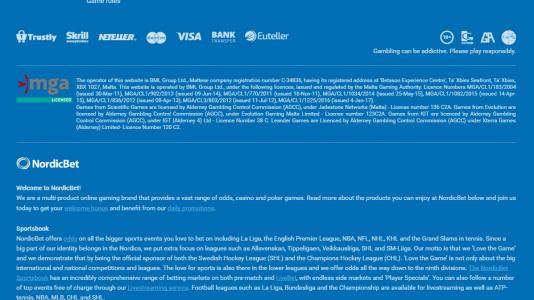 Nordic bet recension - 84960