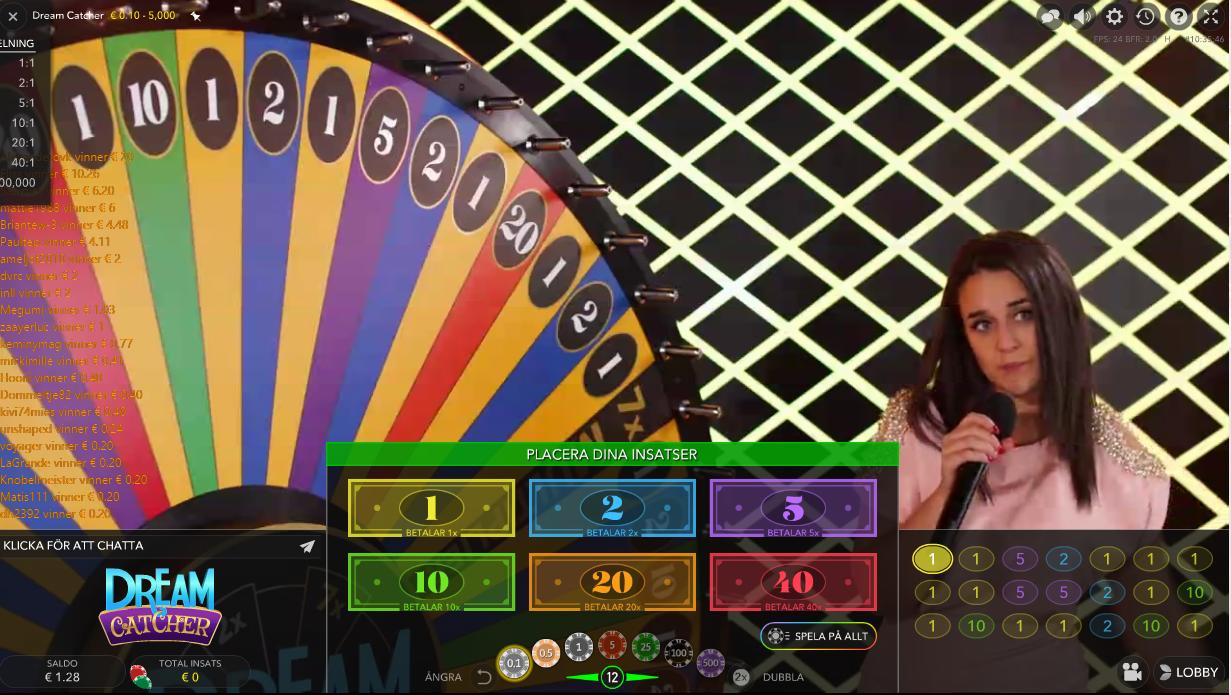 Bästa live casinon - 21093