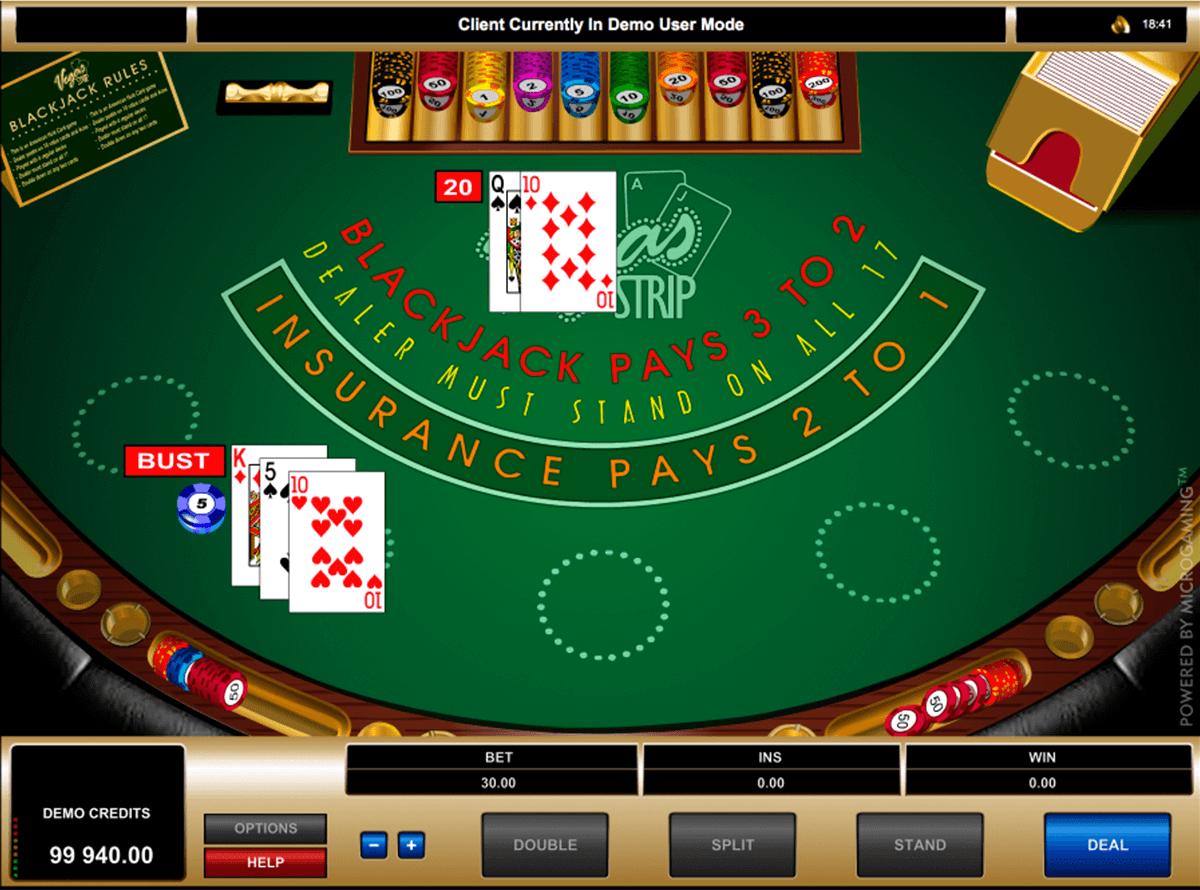 Blackjack strategin - 6554