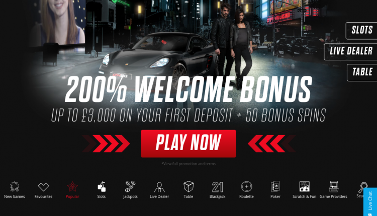 Casino Race - 61849