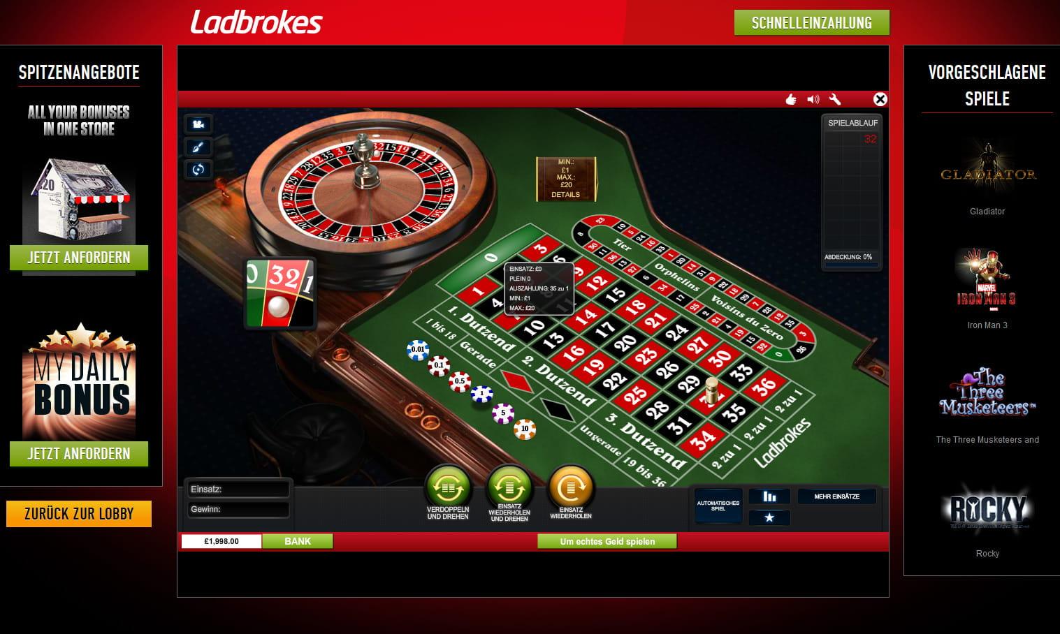 Test av roulette - 87067