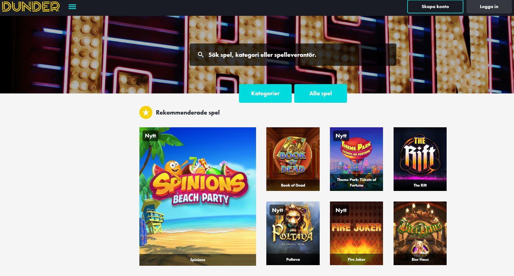Dunder casino - 2813