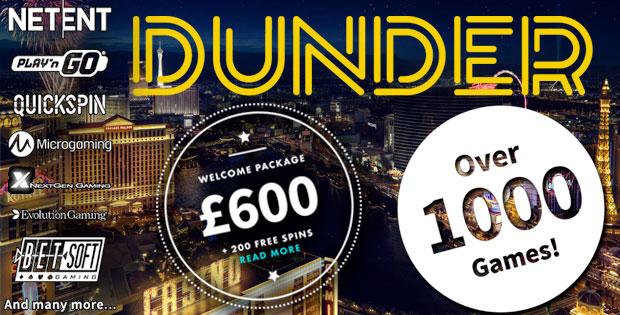 Dunder casino - 60200