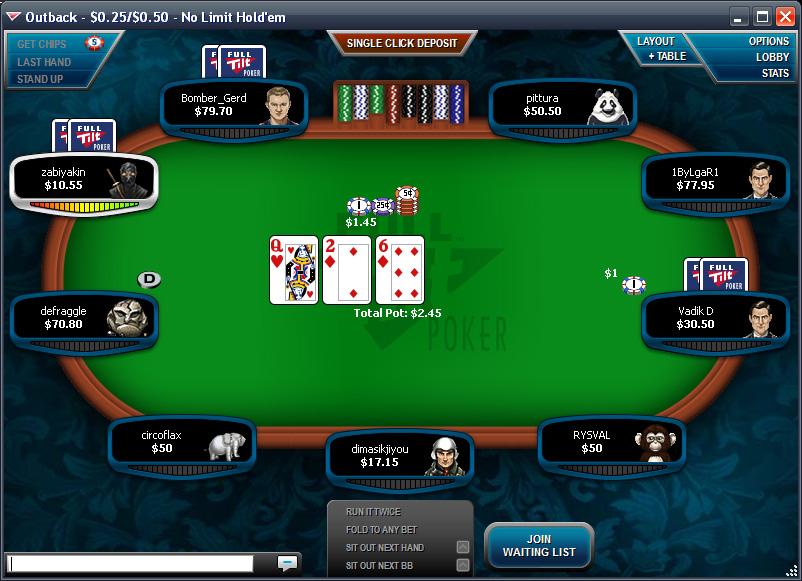 Full tilt poker - 83127