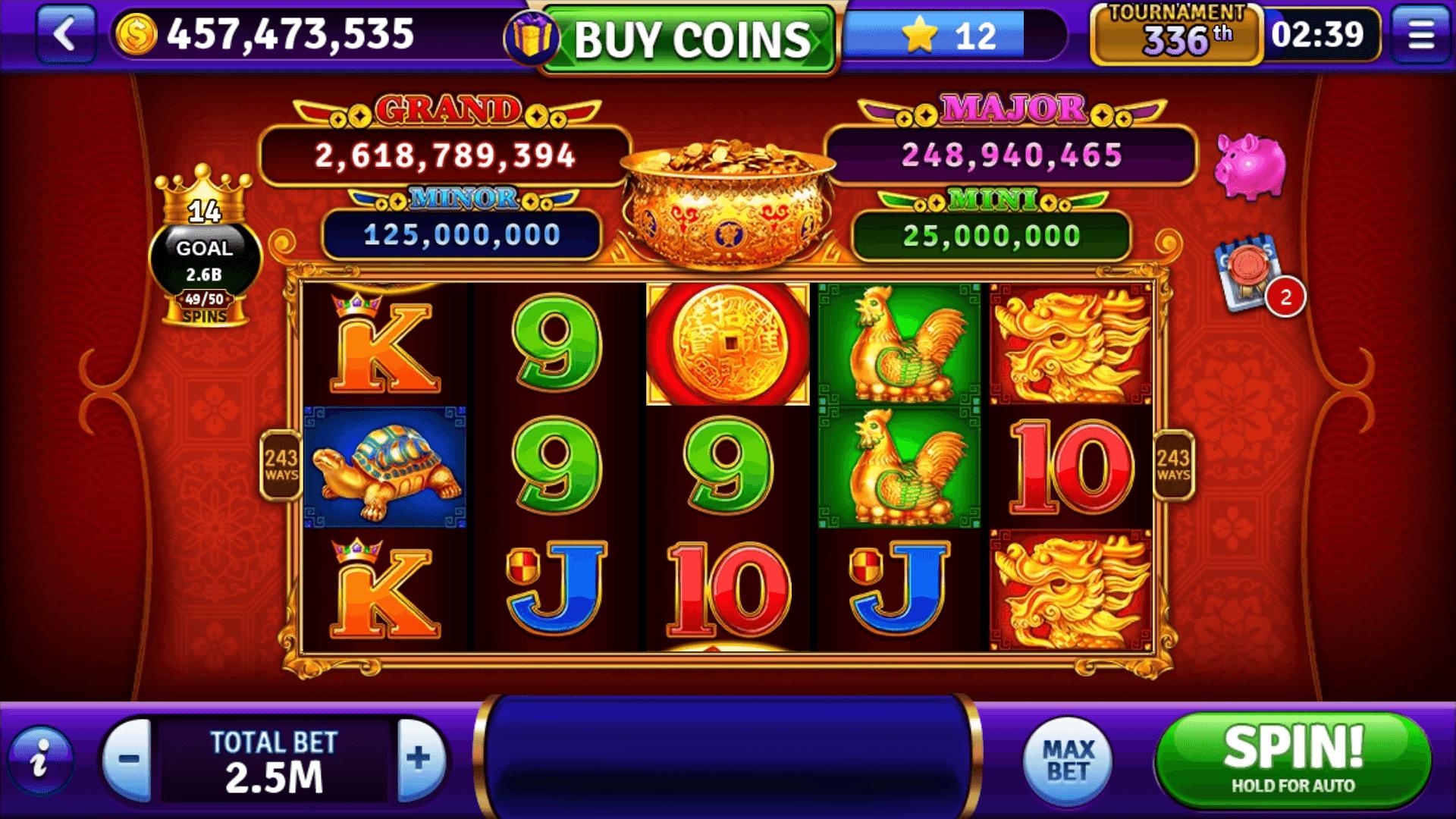 Jackpots popular machines - 70146