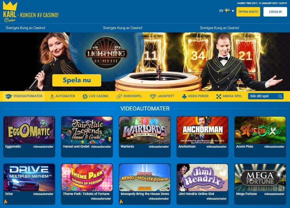 Klar casino recension - 55886