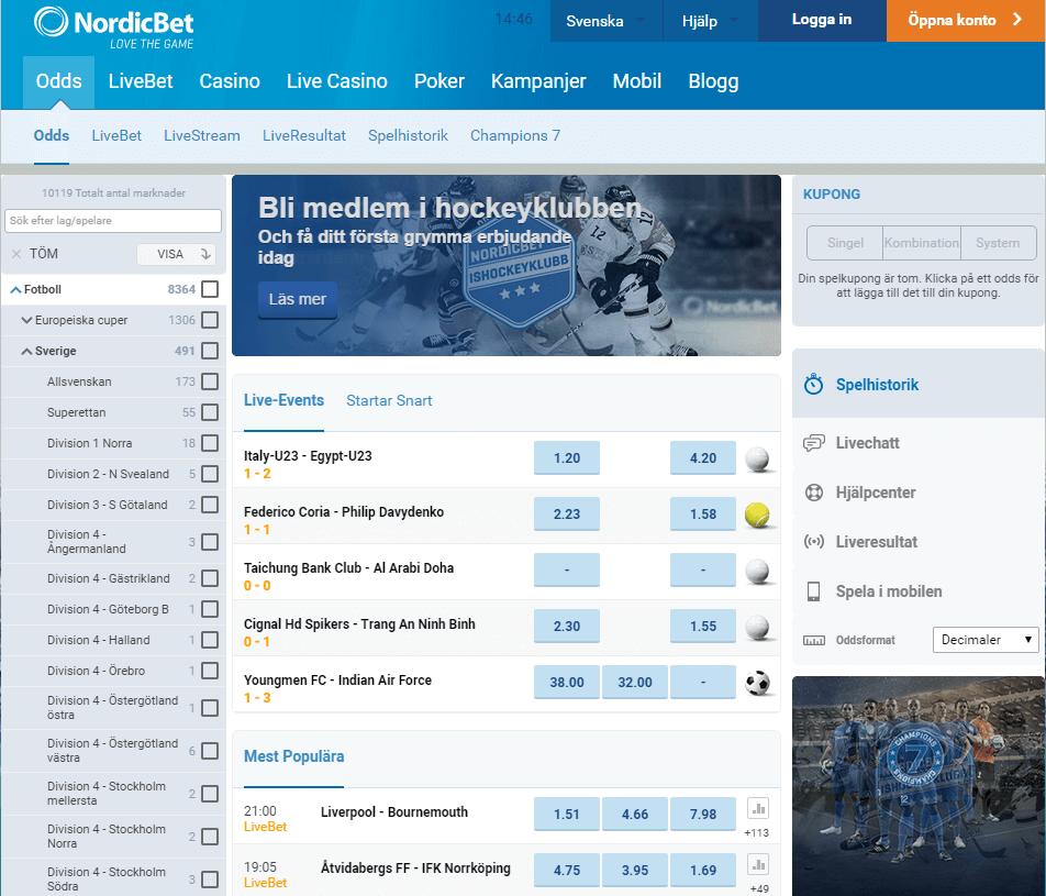 Nordic bet recension - 76469
