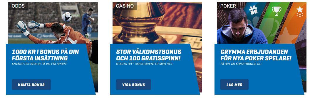 Odds bonus utan - 28034