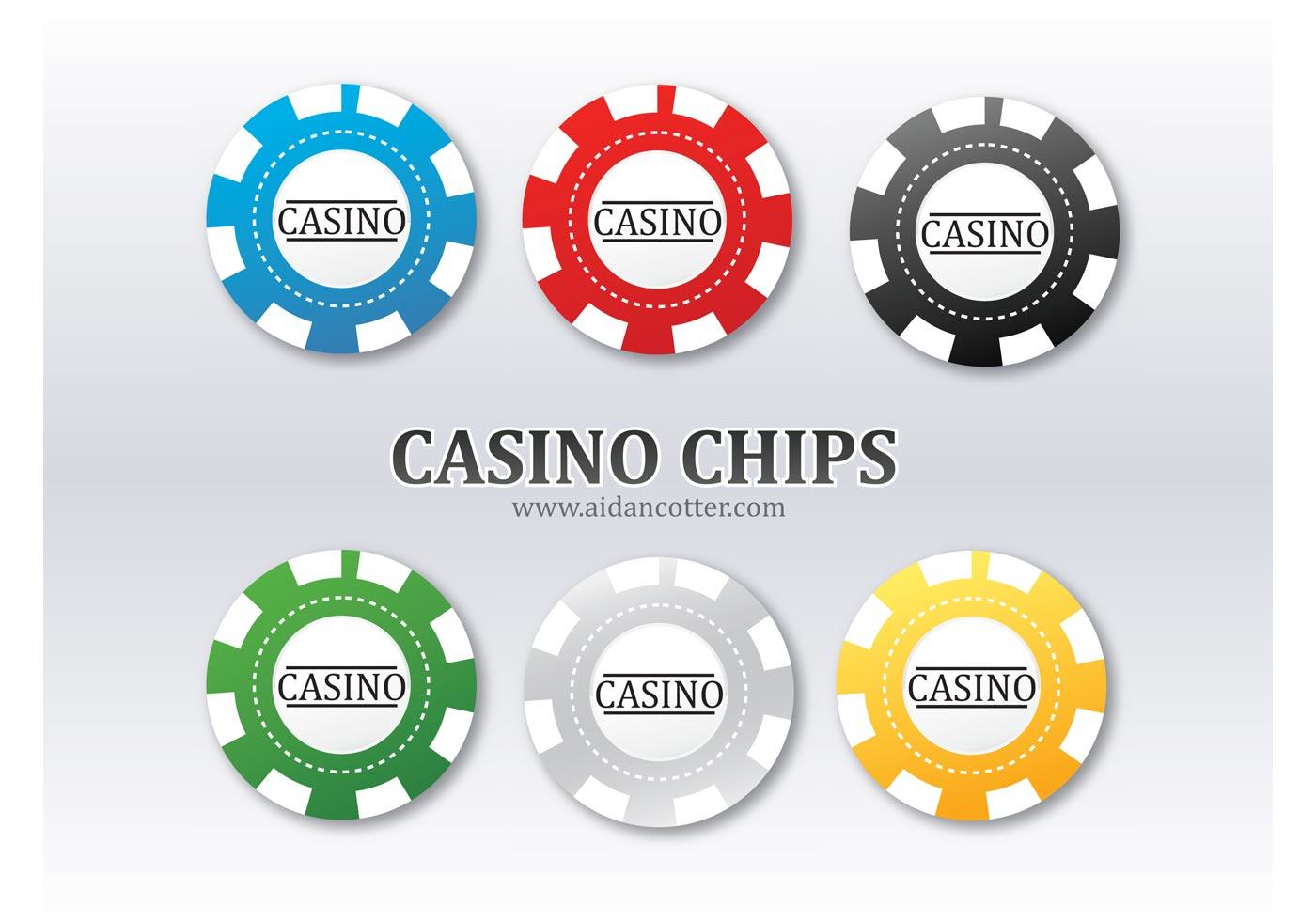Poker chips - 41766
