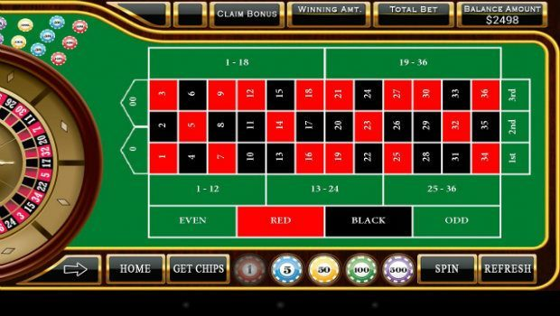 Roulette system svart - 46900