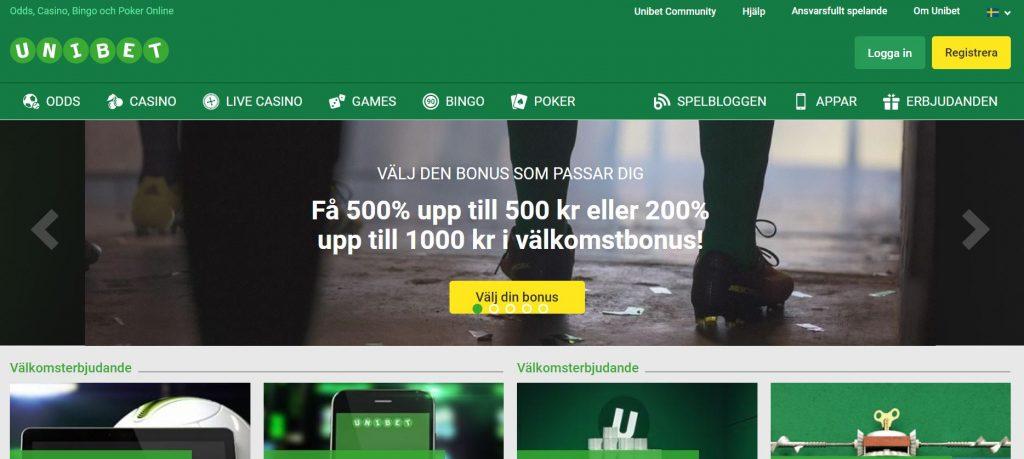 Slumptalsgeneratorn casinospel Unibet - 68162