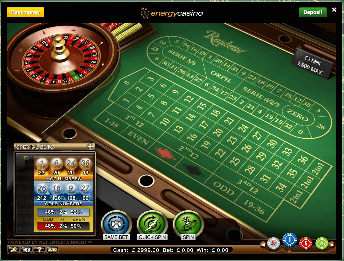 Speltips roulette - 60351