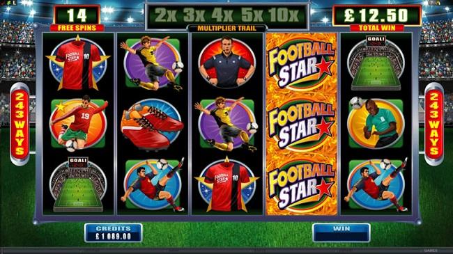 Video Football Stars - 14023